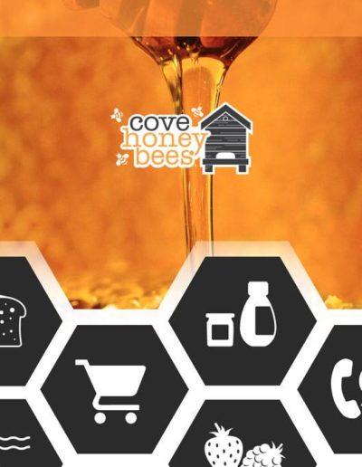 cove honey bees website by dieselgraf