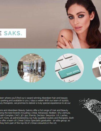 saks website design in Aberdeen