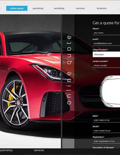 Ashgrove Motorbody website